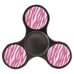 Skin3 White Marble & Pink Denim Finger Spinner by trendistuff