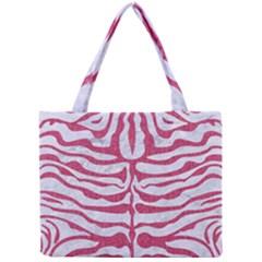 SKIN2 WHITE MARBLE & PINK DENIM (R) Mini Tote Bag