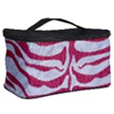 SKIN2 WHITE MARBLE & PINK DENIM (R) Cosmetic Storage Case View2