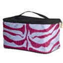 SKIN2 WHITE MARBLE & PINK DENIM (R) Cosmetic Storage Case View3