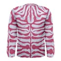 SKIN2 WHITE MARBLE & PINK DENIM (R) Men s Long Sleeve Tee View2