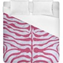 SKIN2 WHITE MARBLE & PINK DENIM (R) Duvet Cover (King Size) View1