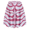 SKIN2 WHITE MARBLE & PINK DENIM (R) High Waist Skirt View2