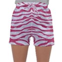 SKIN2 WHITE MARBLE & PINK DENIM (R) Sleepwear Shorts View1