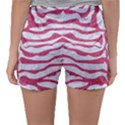 SKIN2 WHITE MARBLE & PINK DENIM (R) Sleepwear Shorts View2