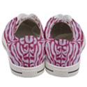 SKIN2 WHITE MARBLE & PINK DENIM (R) Women s Low Top Canvas Sneakers View4