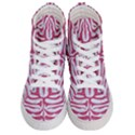 SKIN2 WHITE MARBLE & PINK DENIM (R) Men s Hi-Top Skate Sneakers View1