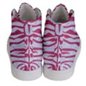 SKIN2 WHITE MARBLE & PINK DENIM (R) Men s Hi-Top Skate Sneakers View4