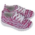 SKIN2 WHITE MARBLE & PINK DENIM (R) Kids  Lightweight Sports Shoes View3