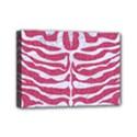 SKIN2 WHITE MARBLE & PINK DENIM Mini Canvas 7  x 5  View1