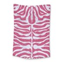 SKIN2 WHITE MARBLE & PINK DENIM Small Tapestry View1