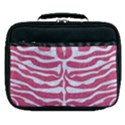 SKIN2 WHITE MARBLE & PINK DENIM Lunch Bag View1