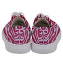SKIN2 WHITE MARBLE & PINK DENIM Kids  Low Top Canvas Sneakers View4