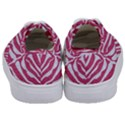 SKIN2 WHITE MARBLE & PINK DENIM Kids  Classic Low Top Sneakers View4