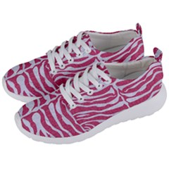 SKIN2 WHITE MARBLE & PINK DENIM Men s Lightweight Sports Shoes