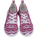 SKIN2 WHITE MARBLE & PINK DENIM Women s Lightweight Sports Shoes View1