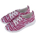 SKIN2 WHITE MARBLE & PINK DENIM Women s Lightweight Sports Shoes View2