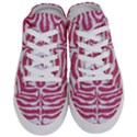 SKIN2 WHITE MARBLE & PINK DENIM Half Slippers View1