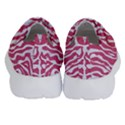 SKIN2 WHITE MARBLE & PINK DENIM Velcro Strap Shoes View4