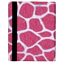 SKIN1 WHITE MARBLE & PINK DENIM (R) Apple iPad 2 Flip Case View3
