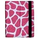 SKIN1 WHITE MARBLE & PINK DENIM (R) Apple iPad Mini Flip Case View2