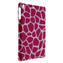 SKIN1 WHITE MARBLE & PINK DENIM (R) iPad Air Hardshell Cases View2