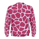 SKIN1 WHITE MARBLE & PINK DENIM (R) Men s Sweatshirt View2