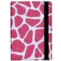 SKIN1 WHITE MARBLE & PINK DENIM (R) Apple iPad Pro 12.9   Flip Case View2
