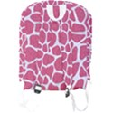 SKIN1 WHITE MARBLE & PINK DENIM (R) Full Print Backpack View2