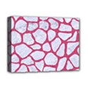 SKIN1 WHITE MARBLE & PINK DENIM Deluxe Canvas 16  x 12   View1