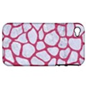 SKIN1 WHITE MARBLE & PINK DENIM Apple iPhone 4/4S Hardshell Case (PC+Silicone) View1