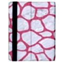 SKIN1 WHITE MARBLE & PINK DENIM Samsung Galaxy Tab 10.1  P7500 Flip Case View2