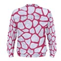 SKIN1 WHITE MARBLE & PINK DENIM Men s Sweatshirt View2