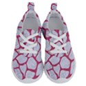 SKIN1 WHITE MARBLE & PINK DENIM Running Shoes View1
