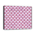 SCALES3 WHITE MARBLE & PINK DENIM (R) Canvas 10  x 8  View1