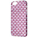 SCALES3 WHITE MARBLE & PINK DENIM (R) Apple iPhone 5 Classic Hardshell Case View3