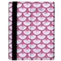 SCALES3 WHITE MARBLE & PINK DENIM (R) Samsung Galaxy Tab 10.1  P7500 Flip Case View2
