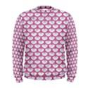 SCALES3 WHITE MARBLE & PINK DENIM (R) Men s Sweatshirt View1