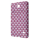 SCALES3 WHITE MARBLE & PINK DENIM (R) Samsung Galaxy Tab 4 (7 ) Hardshell Case  View2