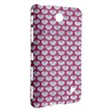 SCALES3 WHITE MARBLE & PINK DENIM (R) Samsung Galaxy Tab 4 (7 ) Hardshell Case  View3