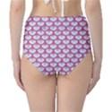 SCALES3 WHITE MARBLE & PINK DENIM (R) Classic High-Waist Bikini Bottoms View2