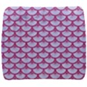 SCALES3 WHITE MARBLE & PINK DENIM (R) Back Support Cushion View1