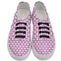 SCALES3 WHITE MARBLE & PINK DENIM (R) Women s Classic Low Top Sneakers View1