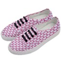 SCALES3 WHITE MARBLE & PINK DENIM (R) Women s Classic Low Top Sneakers View2
