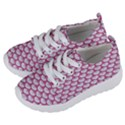 SCALES3 WHITE MARBLE & PINK DENIM (R) Kids  Lightweight Sports Shoes View2