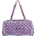 SCALES3 WHITE MARBLE & PINK DENIM (R) Multi Function Bag	 View1