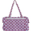 SCALES3 WHITE MARBLE & PINK DENIM (R) Multi Function Bag	 View2