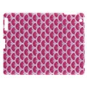 SCALES3 WHITE MARBLE & PINK DENIM Apple iPad 3/4 Hardshell Case View1