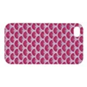 SCALES3 WHITE MARBLE & PINK DENIM Apple iPhone 4/4S Premium Hardshell Case View1