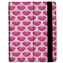 SCALES3 WHITE MARBLE & PINK DENIM Apple iPad 2 Flip Case View2